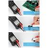 Autojack DCM600 Digital Clamp Meter AC/DC Current Voltage Multimeter Temp Tester Flashlight