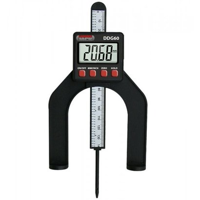 Lumberjack DDG60 LCD Digital Height Depth Gauge Electronic Caliper Magnetic Ruler Tool 0- 85mm