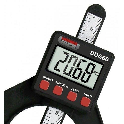 Lumberjack DDG60 LCD Digital Height Depth Gauge Electronic Caliper Magnetic Ruler Tool 0- 85mm