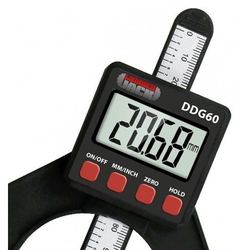 Lumberjack DDG60 LCD Digitales Höhen- und Tiefenmessgerät