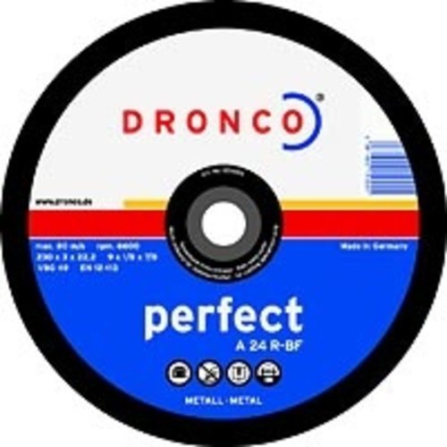 Dronco  Dronco cutting disc - 115 x 3 mm - steel