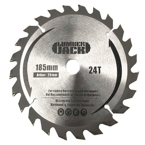 Lumberjack Zaagblad CSB18524 - 185mm, 24 tanden
