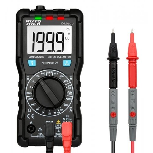 Autojack  LCD Digitale Multimeter - DM600