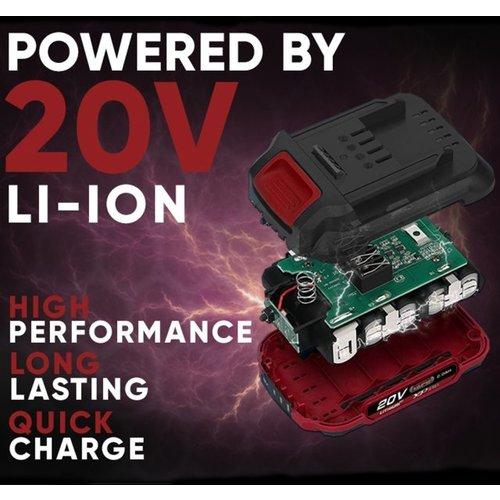 Lumberjack  20 Volt 2.0 Amp Batterij XP SERIES - LLB20