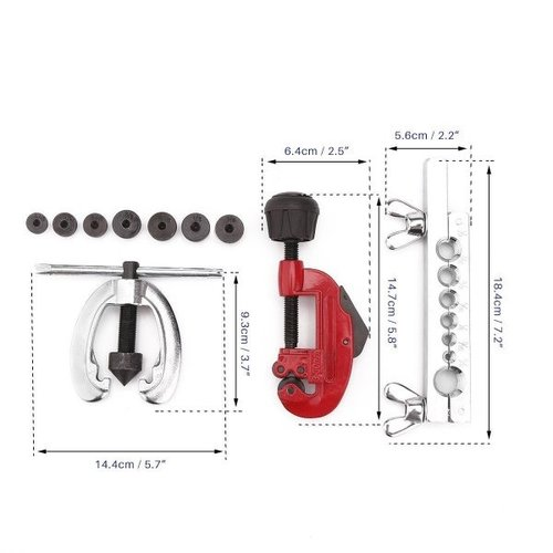 Autojack remleidingfelsset - 10d - BPFK10