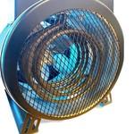 Autojack 3kW Elektrische Ventilatorkachel - EFH3KW