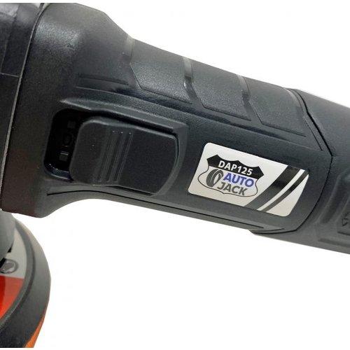 Autojack Poetsmachine - Dual action 125mm - DAP125