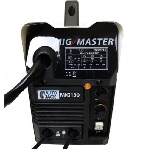 Autojack Autojack Mig Master 130 Amp Gasloos Lasapparaat