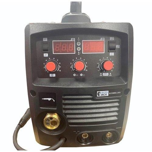 Autojack Schweißgerät MIG 205A - ECOMIG205