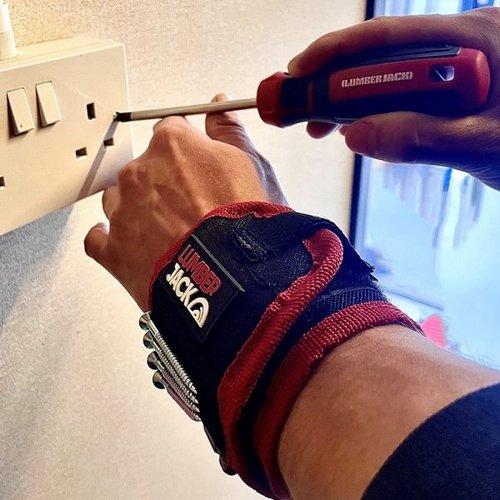 Lumberjack Magnetische gereedschapspolsband - MWB1