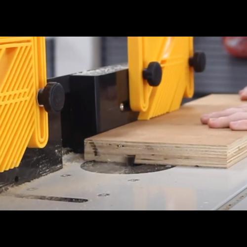 Lumberjack Lumberjack-RT1500-Router-Frästisch mit festem Motor