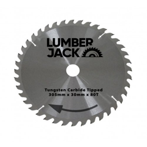 Lumberjack  Sägeblatt 305mm 80T - CSB30580