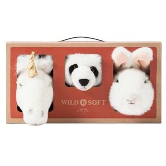 Wild & Soft Lovely Box Mini | Eenhoorn, Panda & Konijn