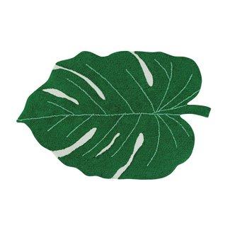 Lorena Canals Wasbaar Vloerkleed Monstera Leaf