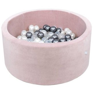 Misioo Ballenbad XL Rond 90x40 | Velvet Pink