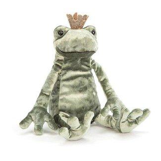 Jellycat Knuffel Kikker | Frog Prince Kiss