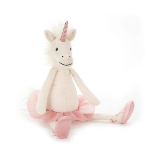 Jellycat Knuffel Dancing Darcy Unicorn