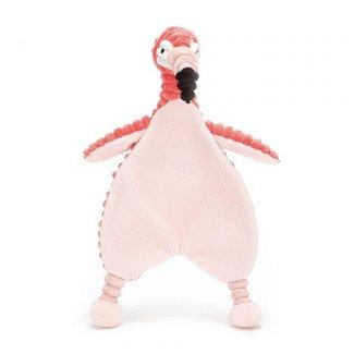Jellycat Cordy Roy Baby Flamingo Soother Knuffeldoek