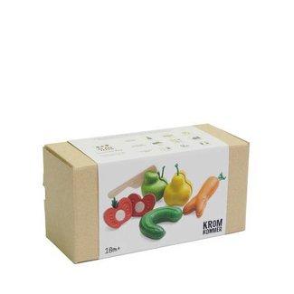 Plan Toys Kromkommer Snijfruit en Groente