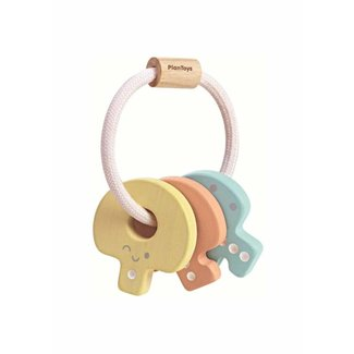 Plan Toys Rammelaar | Sleutels