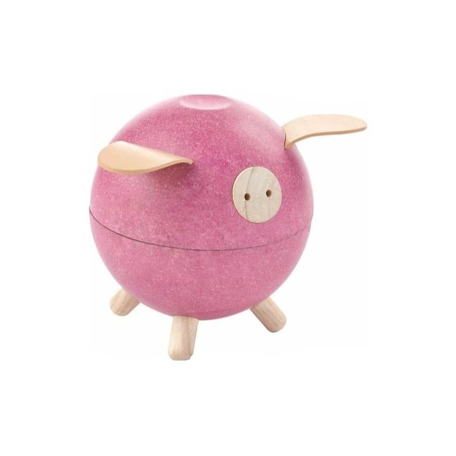Plan Toys Spaarpot Varken | Roze