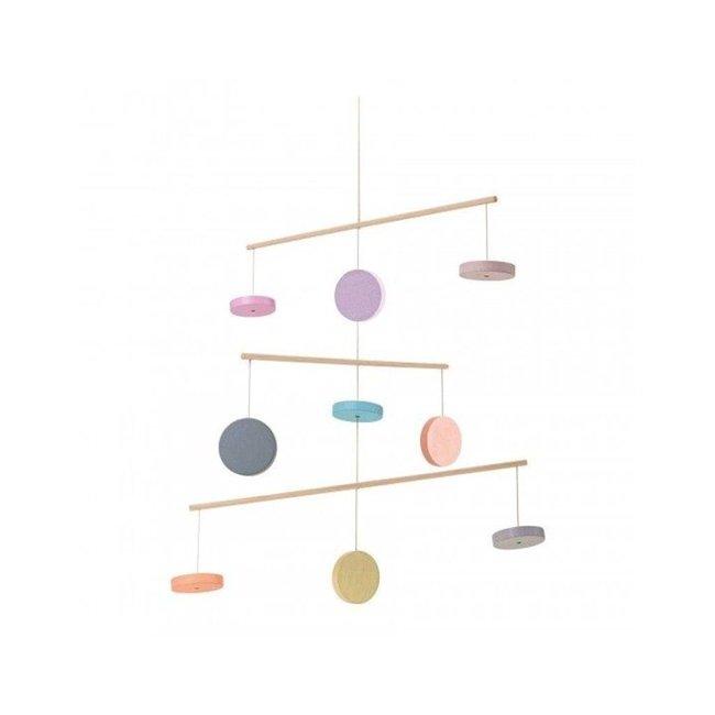 Plan Toys Houten Mobiel | Pastel