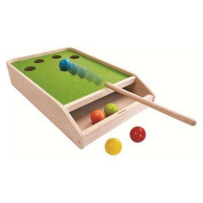 Plan Toys Biljartspel | Ball Shoot Board Game