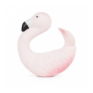 Oli & Carol Bad- en Bijtspeeltje Armband | Flamingo