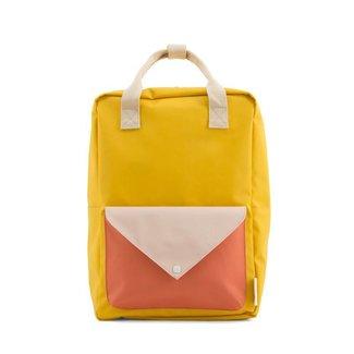 Sticky Lemon Rugzak Envelope Warm Yellow | Large