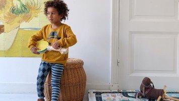Muziek voor peuters: spelen met instrumenten