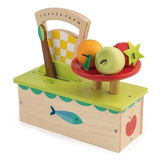 Tender Leaf Toys Houten Weegschaal met Fruit