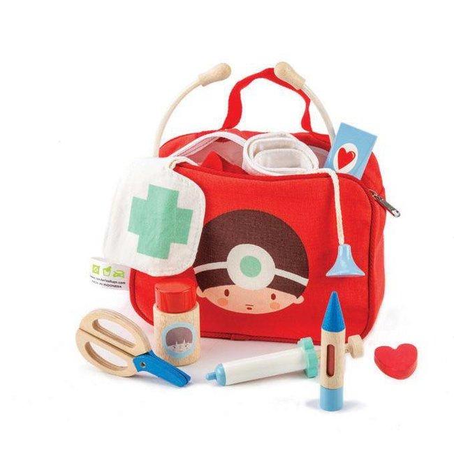Tender Leaf Toys Dokter en Zuster Verpleeg-set