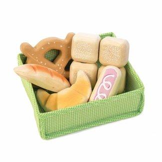 Tender Leaf Toys Mand met Broodjes