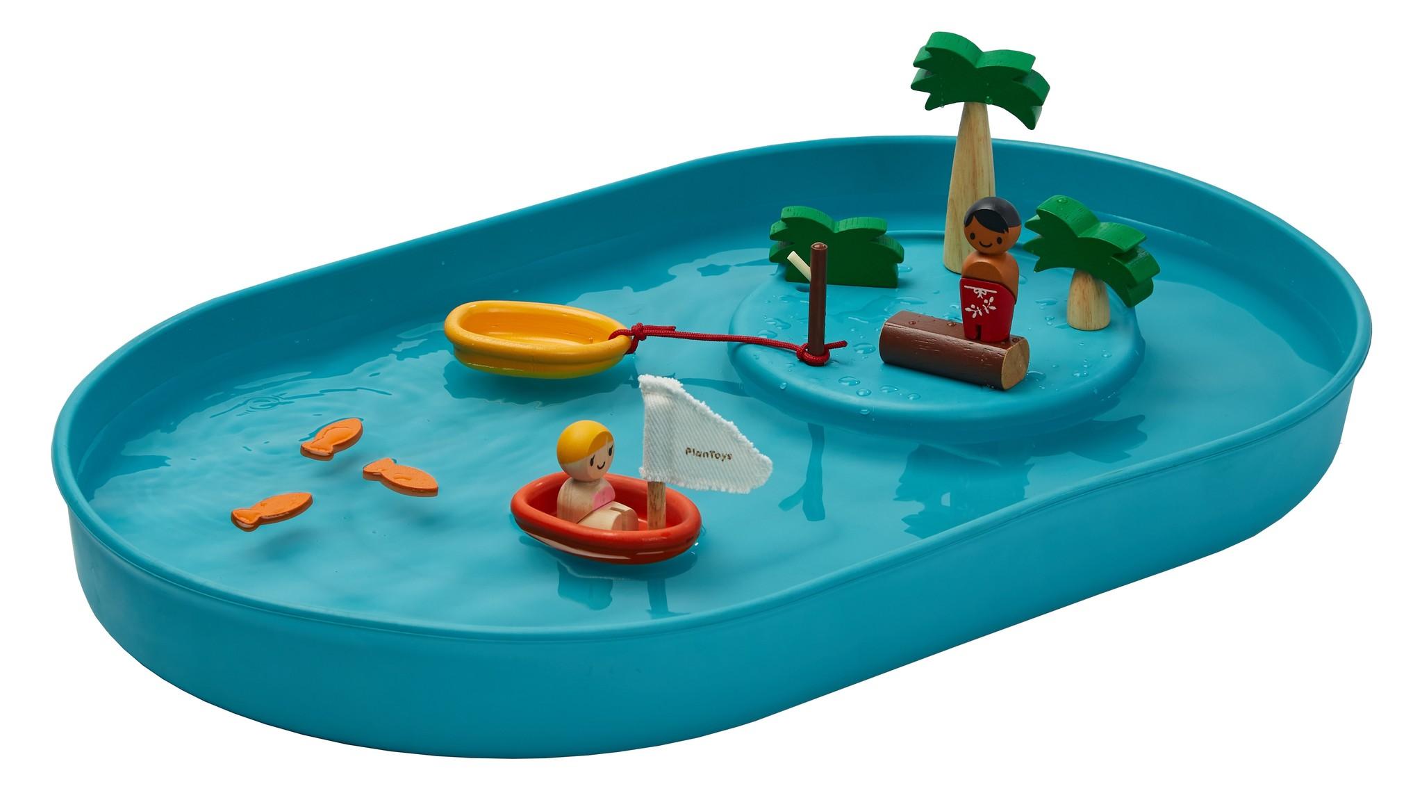 plan toys waterspeel set - Duurzame webshoptip // Lazy Lama
