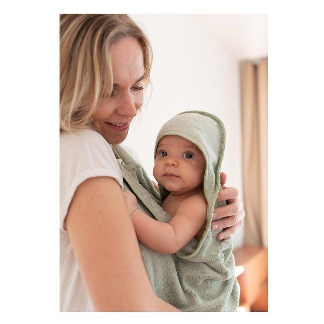 Palais de l'eau Baby Towel | Pastel Green