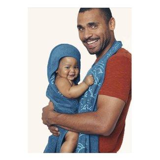 Palais de l'eau Baby Towel | Petrol