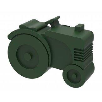 Blafre Lunchbox Tractor Donkergroen