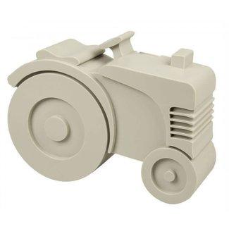 Blafre Lunchbox Tractor Grijs