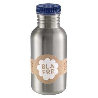 Blafre Stalen drinkfles 500ml | Donkerblauw