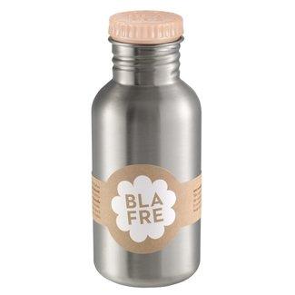 Blafre Stalen drinkfles 500ml | Peach
