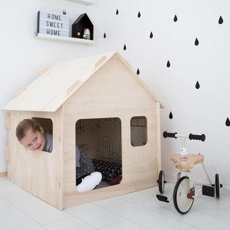 Wool&Woodies Speelhuisje Basic | 120 cm hoog