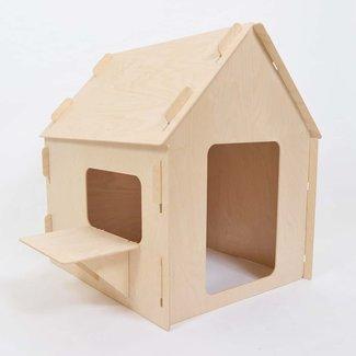 Wool&Woodies Speelhuisje Basic XS | 80 cm hoog