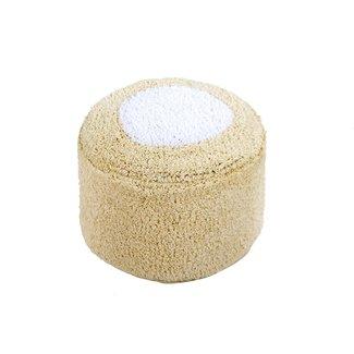 Lorena Canals Poef Marshmallow Round | Vanilla