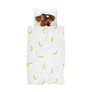Snurk Dekbedovertrek Banana Monkey | 140 x 200 cm