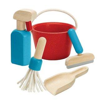 Plan Toys Houten Schoonmaakset