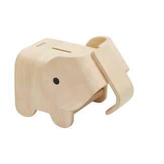 Plan Toys Houten Spaarpot Olifant