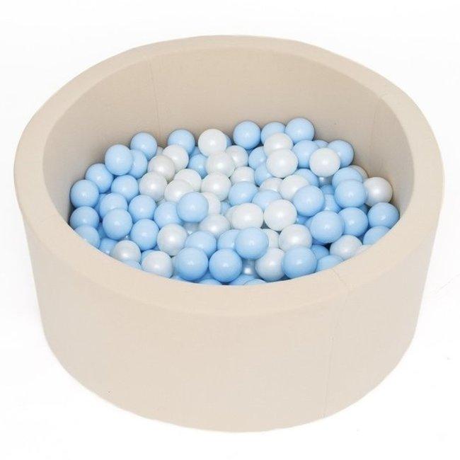 Misioo Ballenbad Rond Beige, incl. 200 ballen