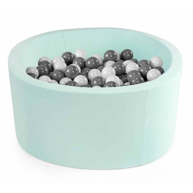 Misioo Ballenbad Rond Mint, incl. 200 ballen