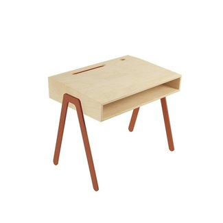 In2Wood Kinderbureau Desk Small | Orange