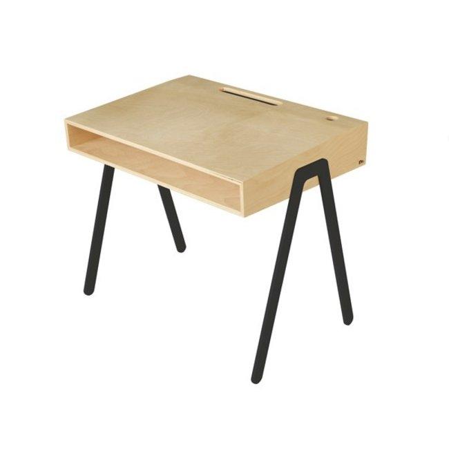 In2Wood Kinderbureau Desk Large | Black
